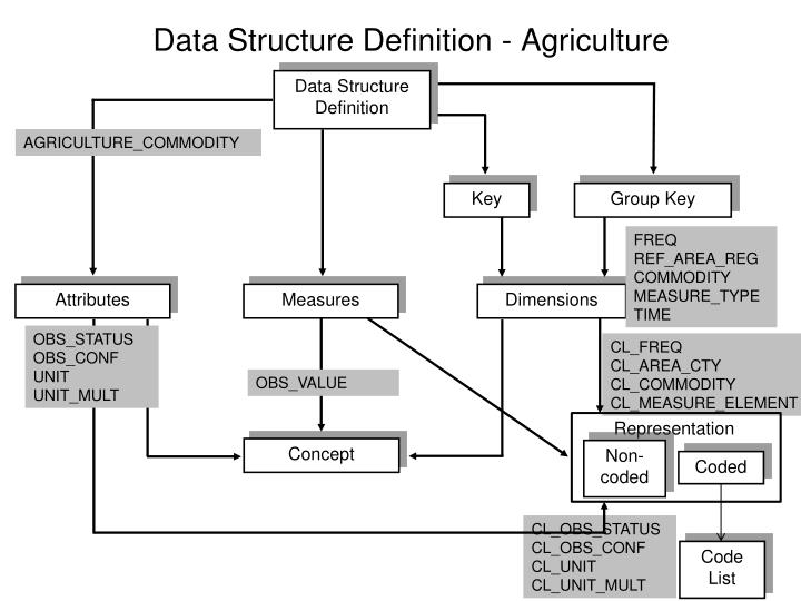 Data Structure Definition - Agriculture