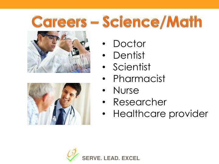 Careers – Science/Math