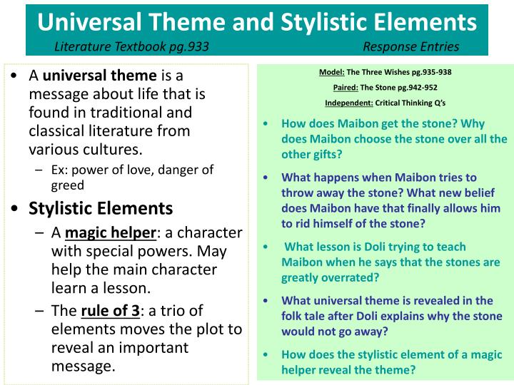 PPT - What is Oral Tradition? Greyling pg.9-15 Response ...