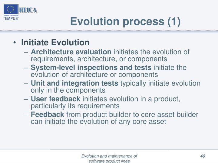 Evolution process (1)