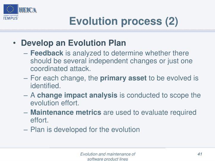 Evolution process (2)