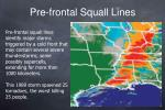 pre frontal squall lines