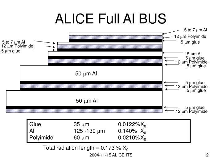 Alice full al bus