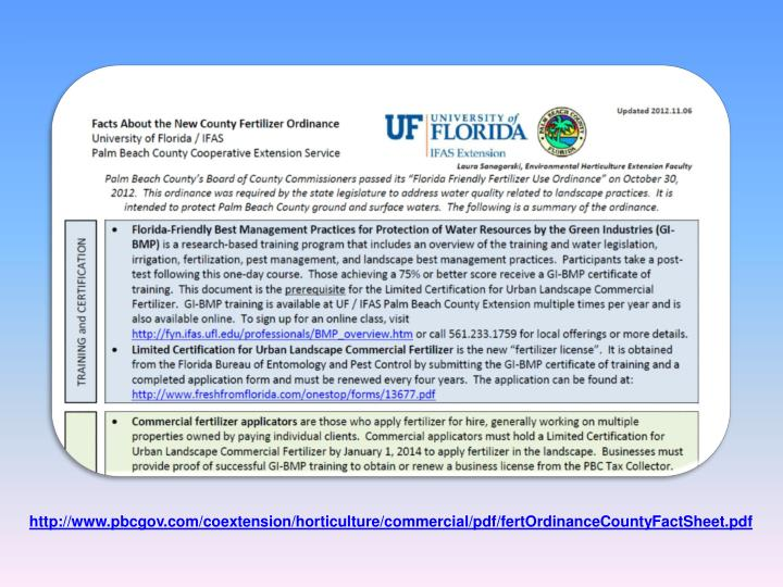 http://www.pbcgov.com/coextension/horticulture/commercial/pdf/fertOrdinanceCountyFactSheet.pdf
