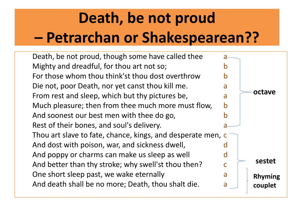 Ppt John Donne Death Be Not Proud Powerpoint Presentation Free Download Id 5576491 Theme