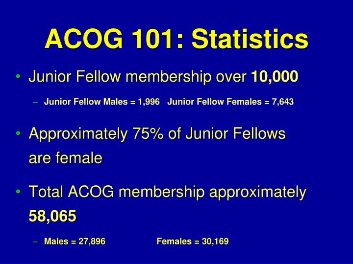 Junior Fellow membership over