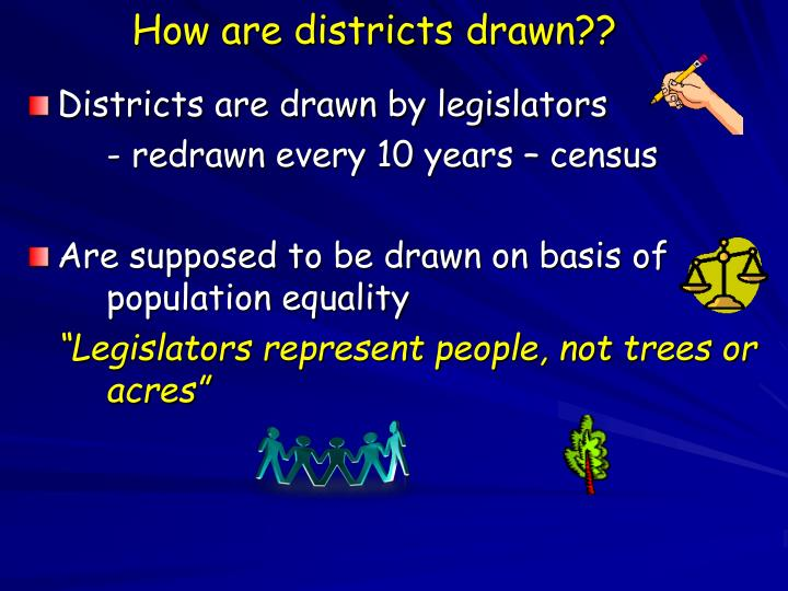 How are districts drawn??