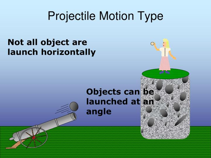 Projectile Motion Type