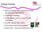 global trends