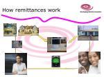 how remittances work