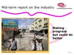 mid term report on the industry