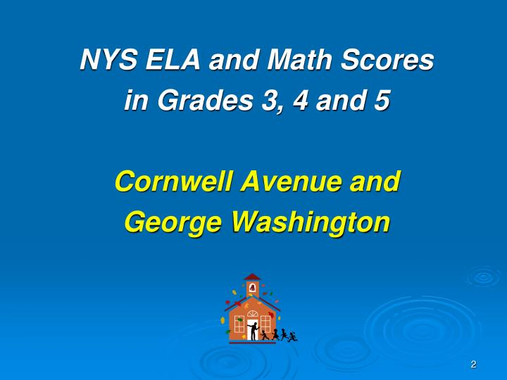 NYS ELA and Math Scores