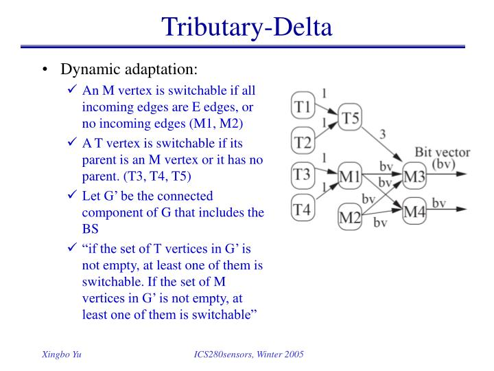 Tributary-Delta