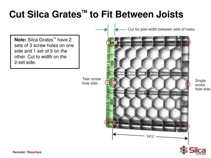 Cut Silca Grates