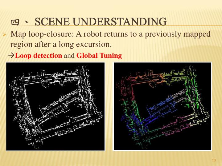Map loop-closure: A robot returns to a previously mapped region after a long excursion.