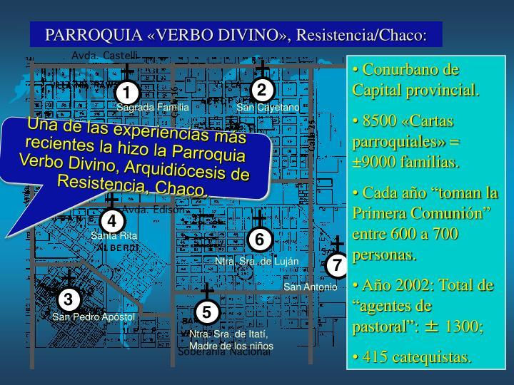 PARROQUIA «VERBO DIVINO», Resistencia/Chaco: