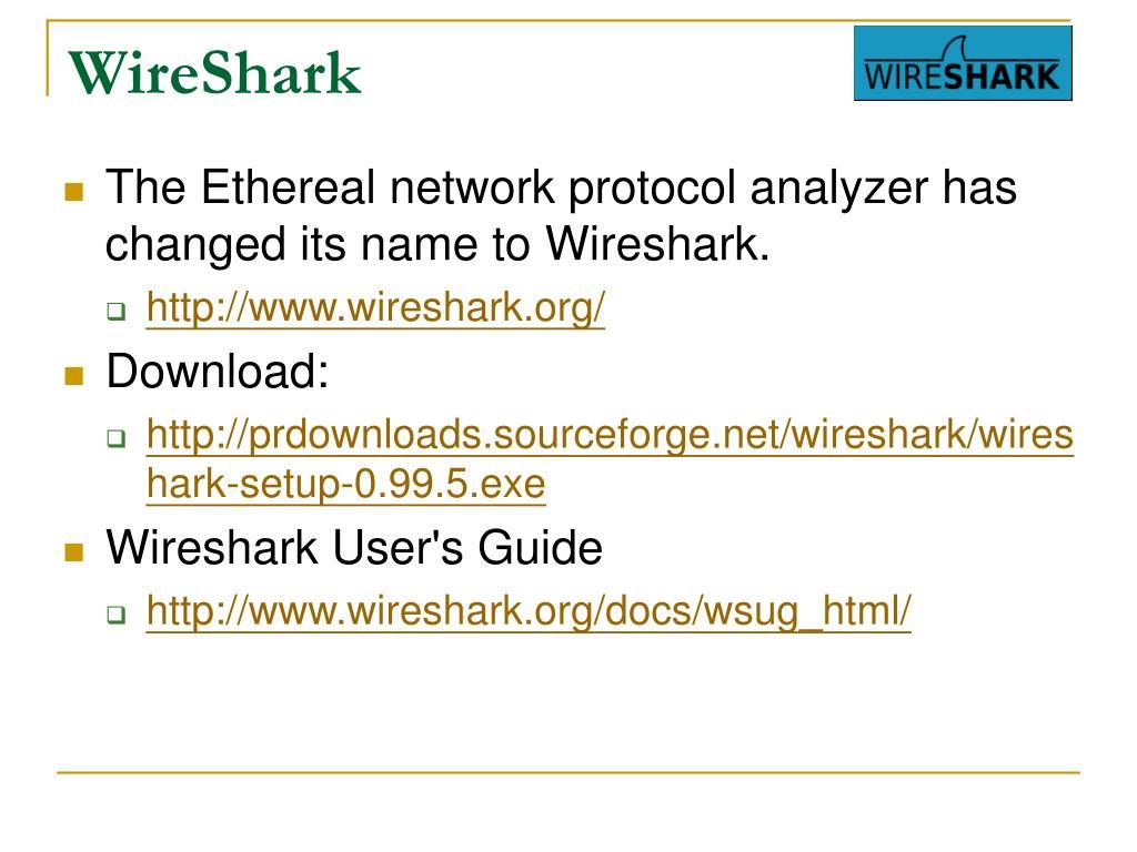 Wireshark Setup