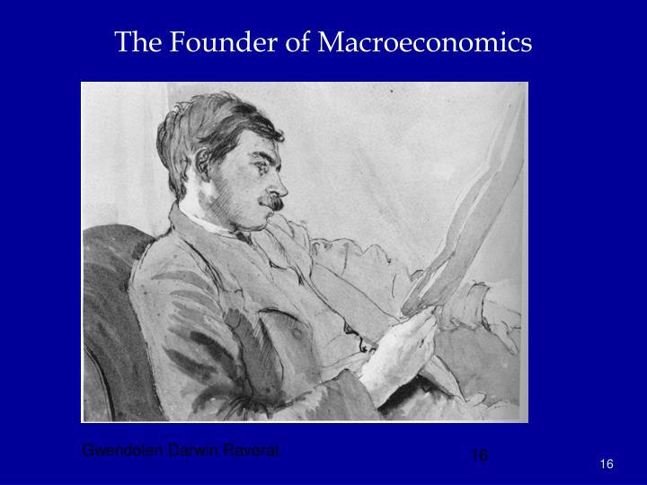 The Founder of Macroeconomics