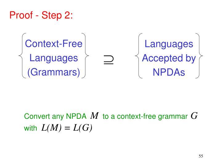 Proof - Step 2: