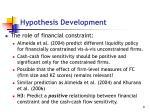 hypothesis development2