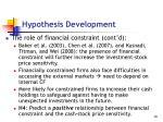 hypothesis development3