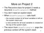 more on project 2