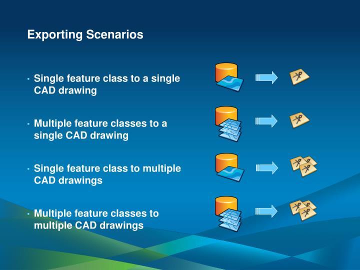 Exporting Scenarios