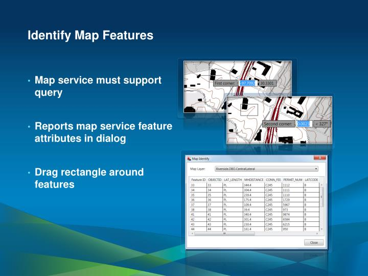 Identify Map Features