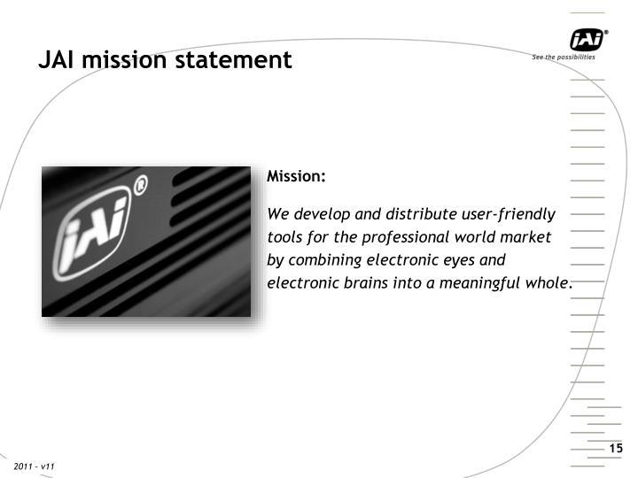 JAI mission statement