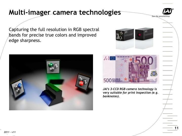 Multi-imager camera technologies