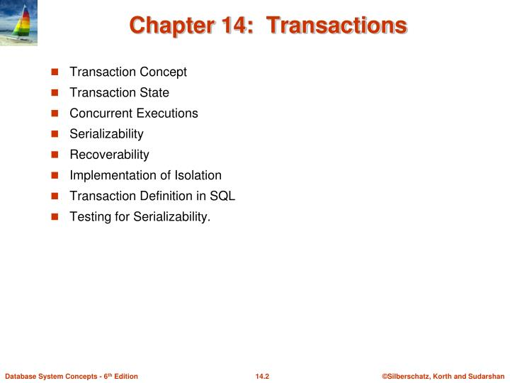 Chapter 14 transactions1