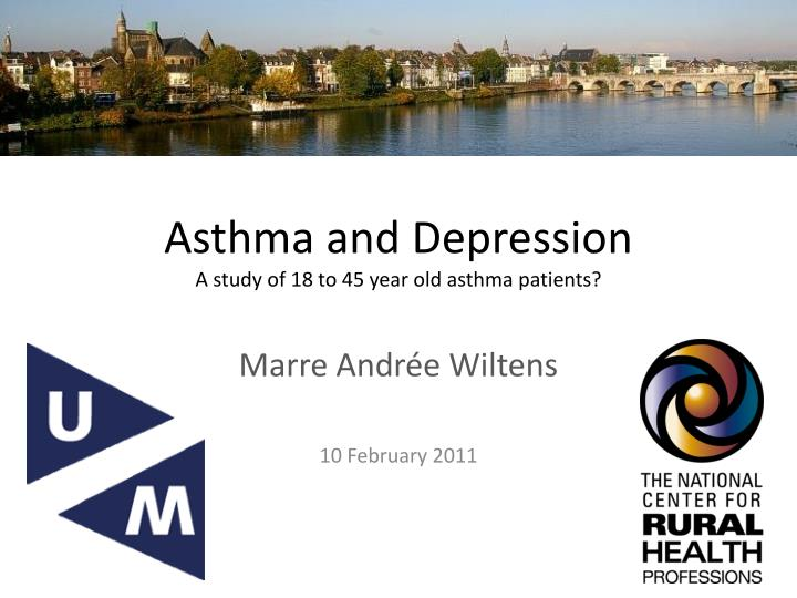 Asthma and d epression a study of 18 to 45 year old asthma patients