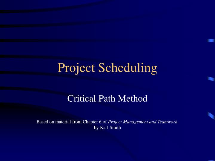 project management and critical path In this blog post, i will discuss the critical path with a real world example, identify the critical path in a network diagram, and calculate the float for each path.