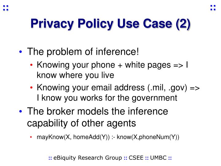Privacy Policy Use Case (2)