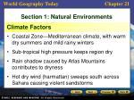 section 1 natural environments2