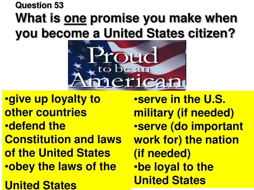 ppt - civics test for citizenship powerpoint presentation