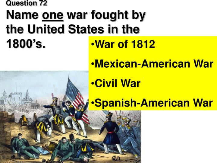 compare and contrast war 1812 and mexican american war What are some similarities between the american revolution and in the mexican-american war what are the similarities between the american revolution and.