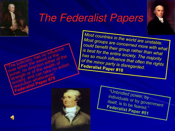 who wrote the majority of the essays in the federalist