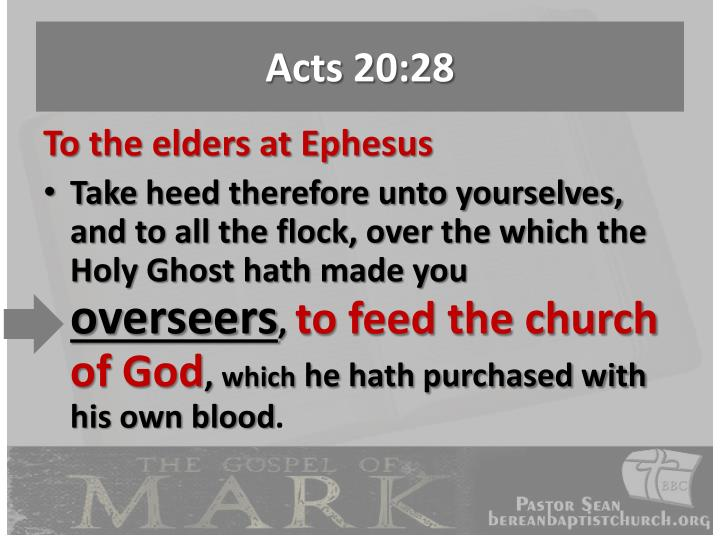 Acts 20:28