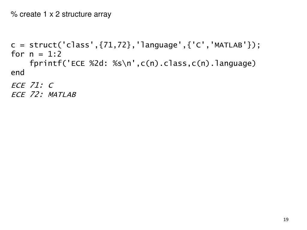 PPT - MATLAB Programming PowerPoint Presentation - ID:5581504
