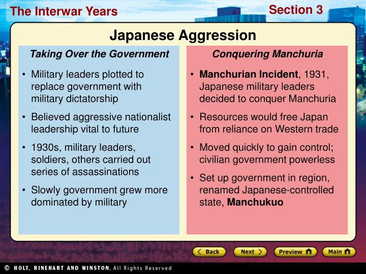Conquering Manchuria