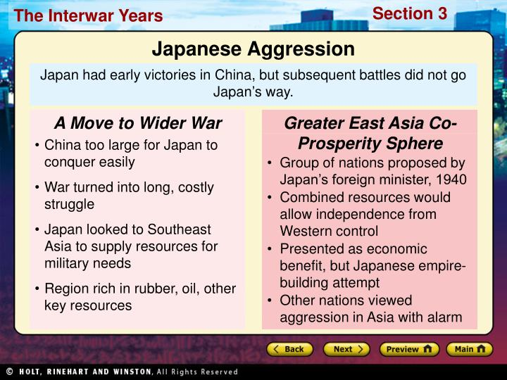 A Move to Wider War