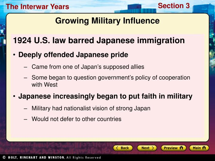1924 U.S. law barred Japanese immigration
