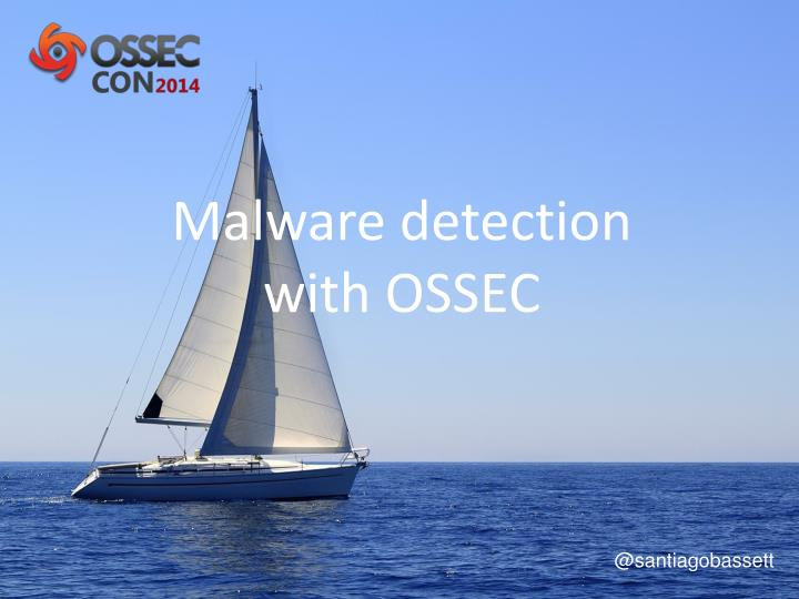 malware detection with ossec n.