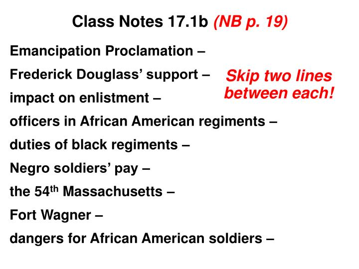 class notes 17 1b nb p 19 n.