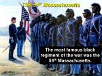 the 54 th massachusetts