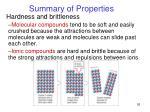 summary of properties