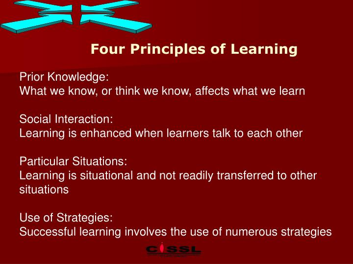 Four Principles of Learning