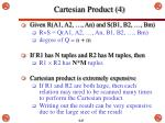cartesian product 4