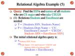 relational algebra example 51